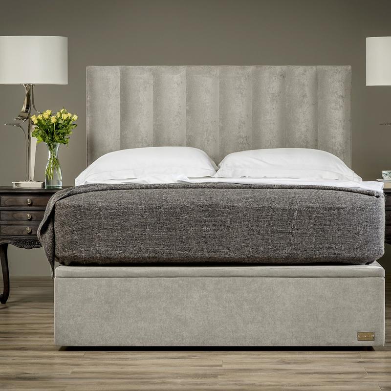 Quarto de estilo Moderno, cabeceira estofada tecido conjuntos de CAMA king size
