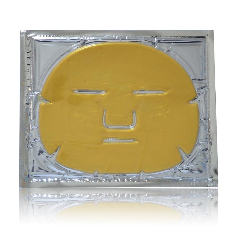 24 K nano colágeno máscara facial com formulação de ervas trabalhar para anti-rugas anti-envelhecimento