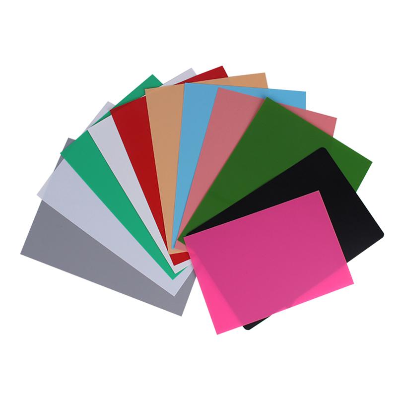 Material plástico de cor sólida fosca-arenosa de plástico PP