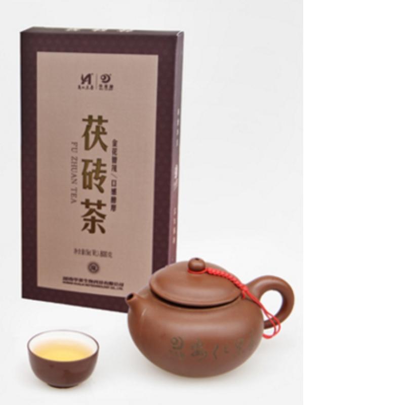 chá de fuzhuan hunan anhua chá preto chá de saúde