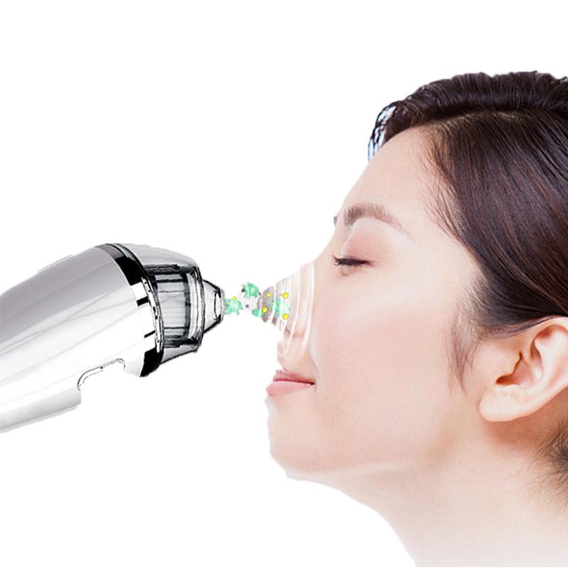 Removedor de Cravo Vacuum - Poros Limpador de Sucção De Cravo Elétrica Facial Comedo Acne Extractor Ferramenta para Mulheres u0026 Homens