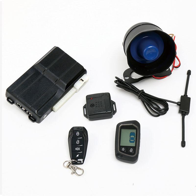 sistema de alarme de carro em dois sentidos