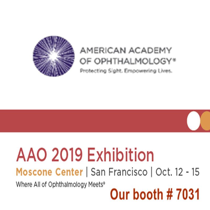 Bem-vindo para nos visitar em AAO 2019 Exposição