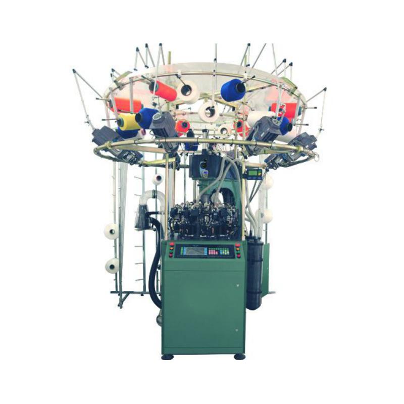 Máquina de tricô sem costura computadorizada