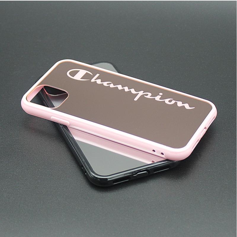 Espelho HYZ galvaniza caixa do telefone móvel para iphone 11
