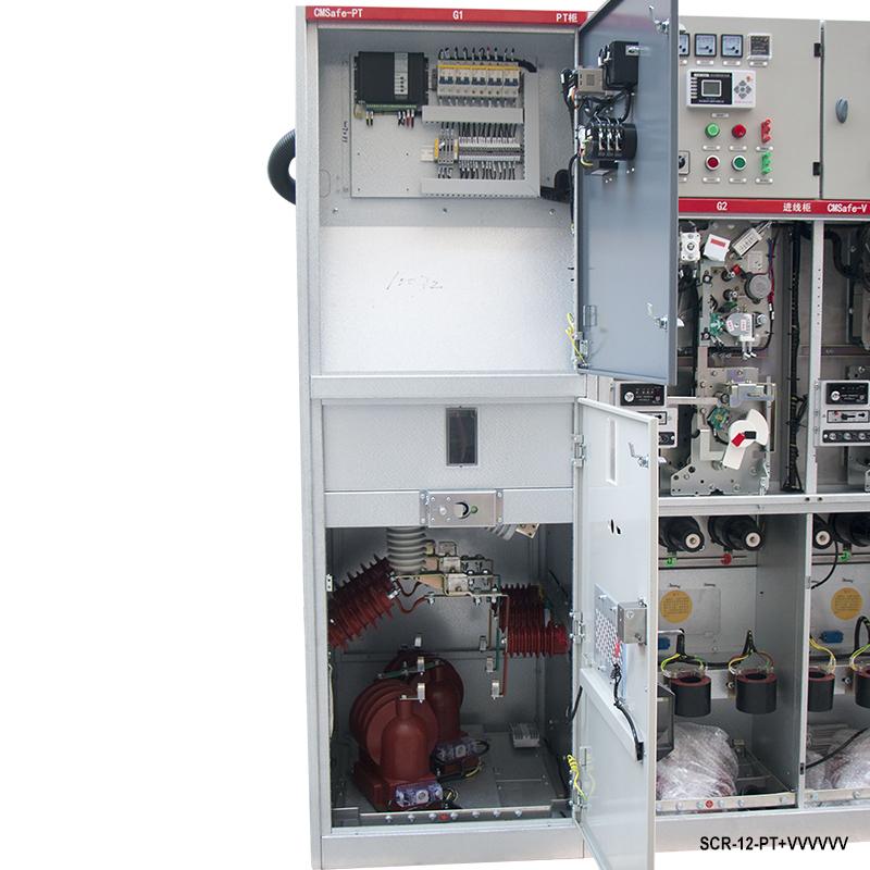 Unidade principal SF6 11kV Anel de Alta tensão