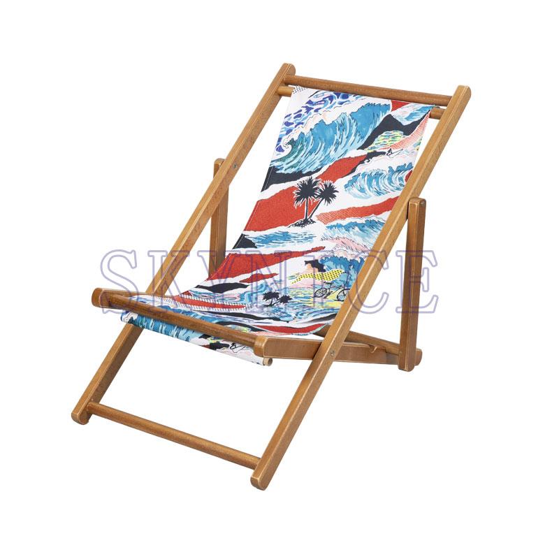 Wooden Folding Sling Chair For Children
