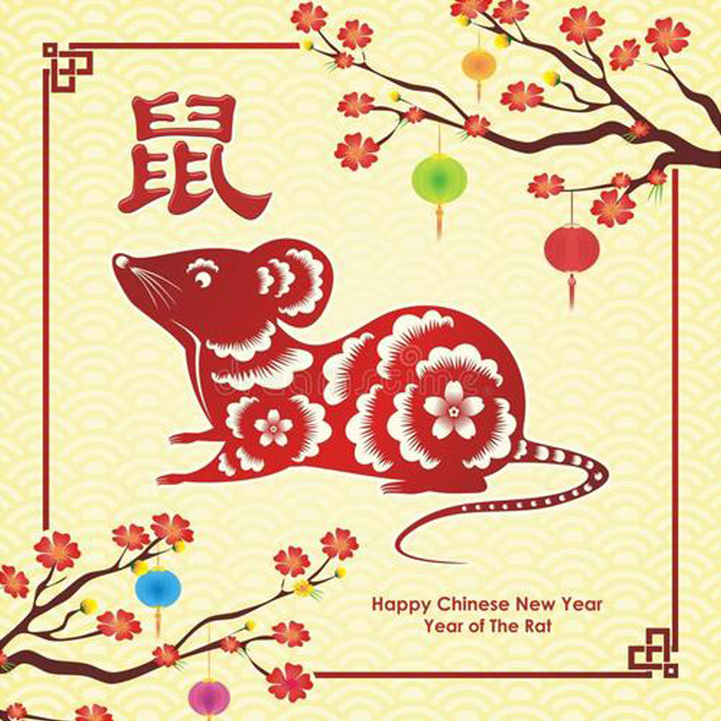 Feliz Ano Novo Chinês!