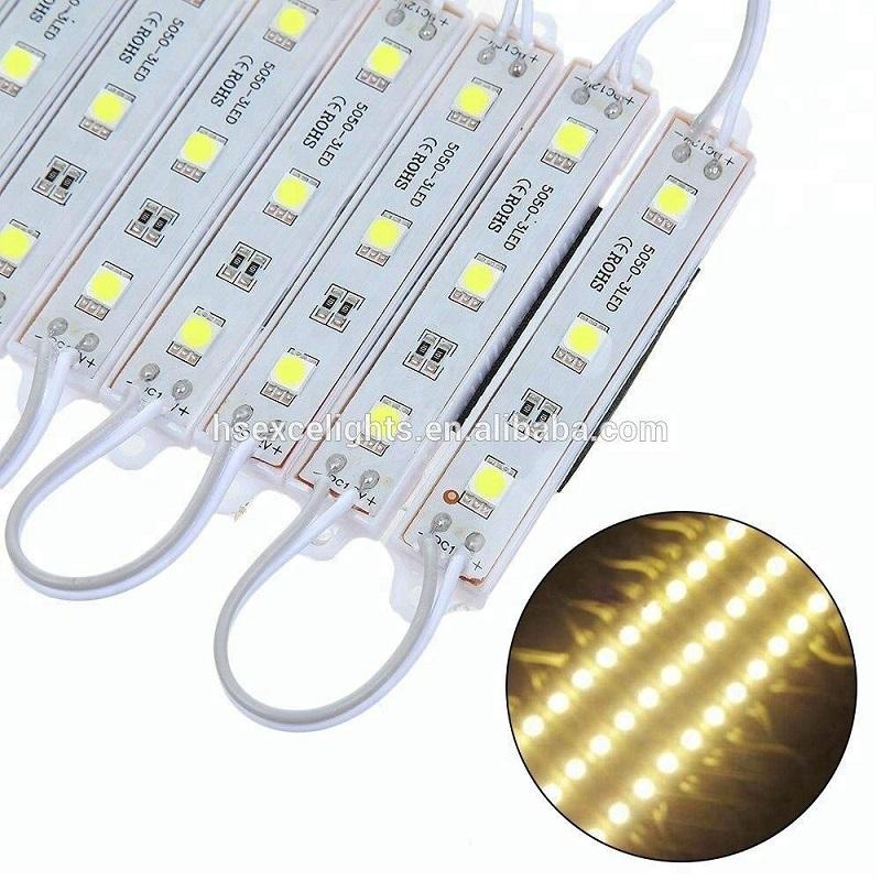 Aprovação CE.RoHS Módulo de LED impermeável DC12V 5050