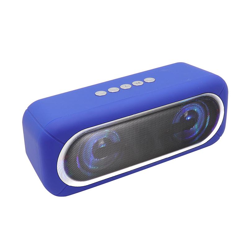 Alto-falante Bluetooth OS-590 com luz colorida piscando