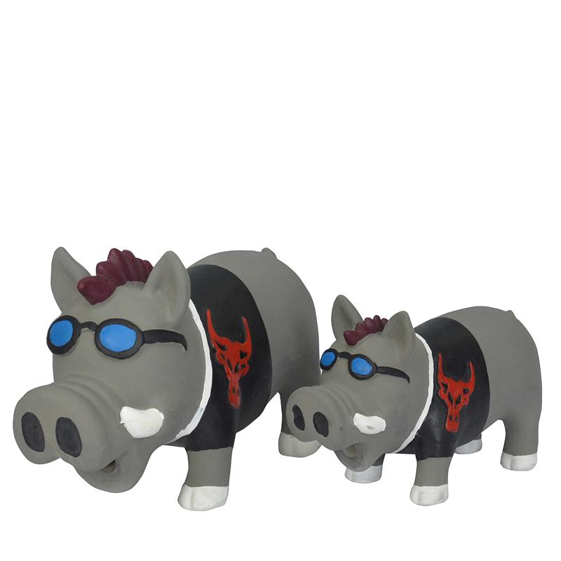 Fábrica de látex squeaky pet toy dog mastigar brinquedo