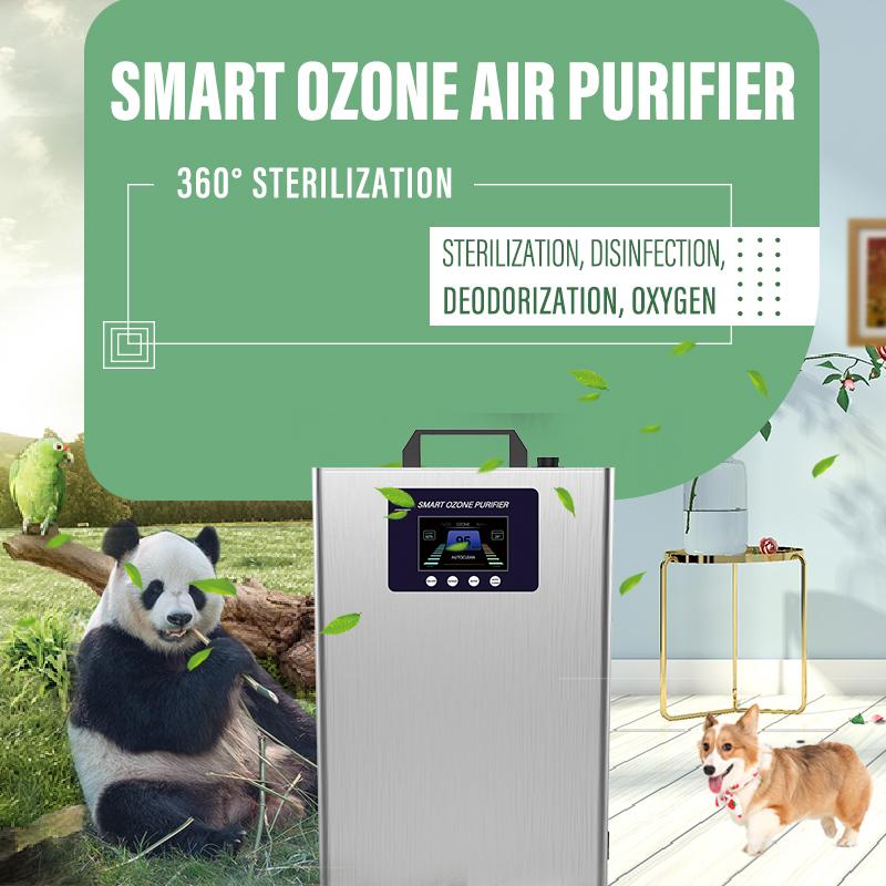 Purificador de ar de ozônio inteligente, novo modo de esterilização