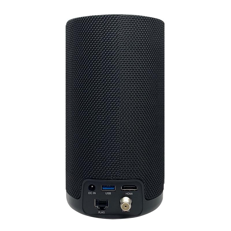 Alto-falante de controle de voz Far-Field 4K Android TV Smart Speaker com o Google Assistant integrado